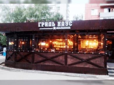 Мягкие окна ПВХ для кафе в Москве