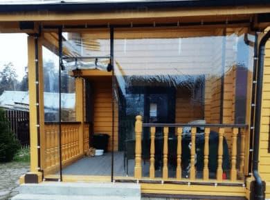 Мягкие окна ПВХ для веранды в Ногинске