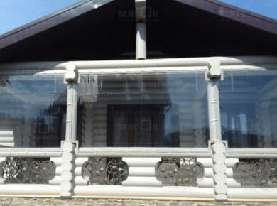 Мягкие окна ПВХ для веранды в Дмитрове