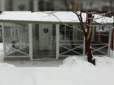 Мягкие окна ПВХ для веранды в Серпухове