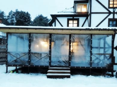 Мягкие окна ПВХ для террасы в Сергиевом Посаде