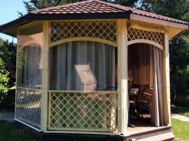 Мягкие окна ПВХ для беседки в Красногорске