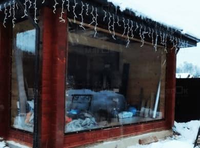 Мягкие окна ПВХ для веранды в Щелково