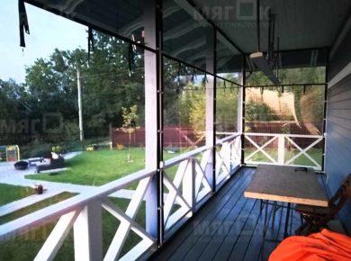 Мягкие окна ПВХ для террасы в Ногинске