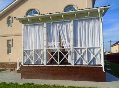 Мягкие окна для террасы в Щелково