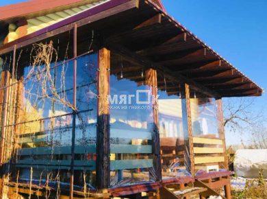 Мягкие окна ПВХ для террасы в Видном