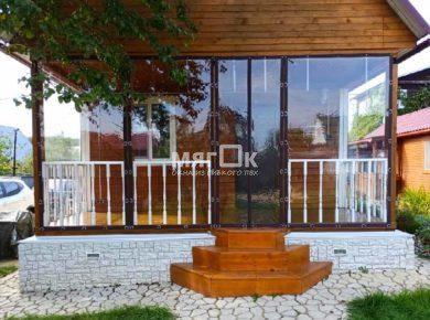 Мягкие окна ПВХ для террасы Подольске
