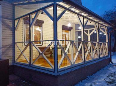 Мягкие окна ПВХ для террасы в Одинцово
