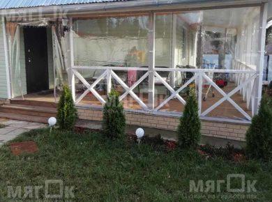 Мягкие окна для веранды в Обнинске